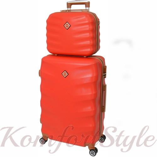 Комплект чемодан и кейс Bonro Next  маленький красный (10066705)