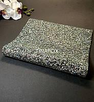 Фотофон, фотозона, коврик для фотографий маникюра серебро, размер 40*24 см