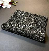 Фотофон, фотозона, коврик для фотографий маникюра черный, размер 40*24 см