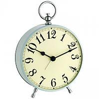 Будильник (часы аналоговые) TFA Nostalgie, Pale blue