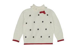 Детский свитер для девочки Одежда для девочек 0-2 Krytik Италия 94465/KN/00A