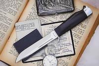 Нож нескладной Финка с деревянной рукоятью, отличная отделка лезвия, качественная сталь