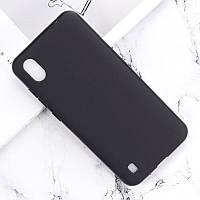 Чехол Soft Line для ZTE Blade A7 силикон бампер черный