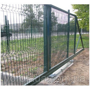 Ворота откатные Заграда высота 2.0 м ширина 4.0 м