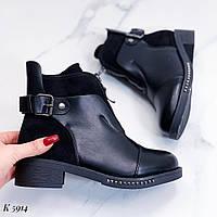 Женские ботинки утепленные мехом, фото 1