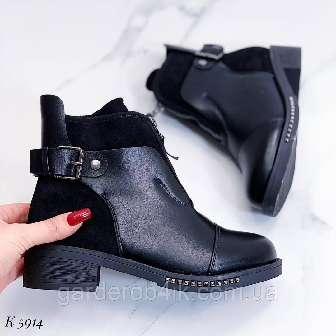 Женские ботинки утепленные мехом