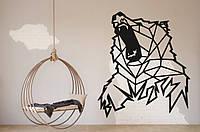 """Картина из дерева """"Bear"""""""