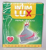"""Презерватив с шариками и усиками Intim Lux """"Перья Ангела"""""""