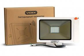 Прожектор светодиодный VIDEX Slim Sensor 20W 5000K 220V White (23574), фото 3