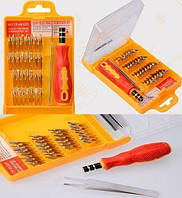 Набор отверток инструментов 32 в 1, для ремонта телефонов и электроники TyT