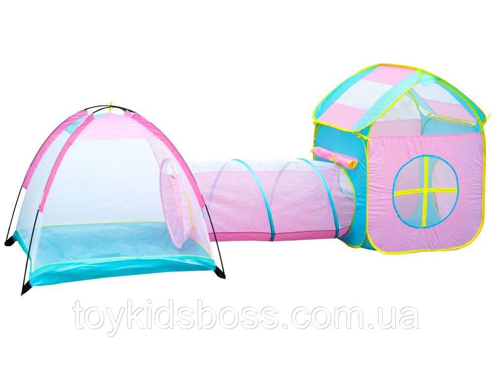 Детская палатка с туннелем Li Jian