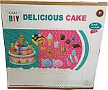 Большой празничный торт с аксессуарамы Le Ke Er Toys Delicious cake, фото 2