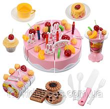 Большой празничный торт с аксессуарамы Doris 75 ел розовый