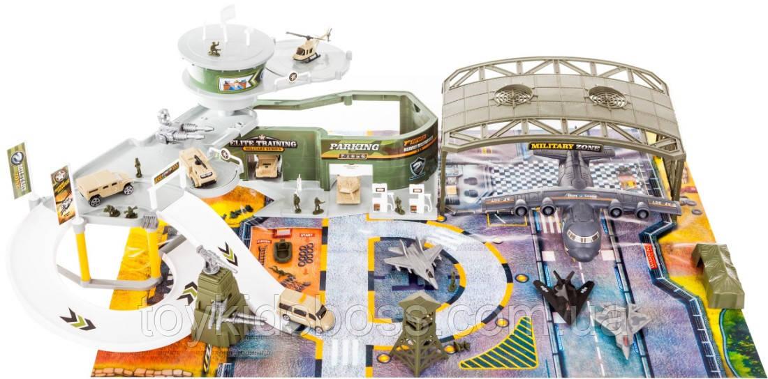 Детский игровой набор Peng Rong Большая военная база