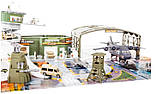 Детский игровой набор Peng Rong Большая военная база, фото 3