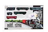 Большая железная дорога Biongi Rail King 7 м с парой, фото 4