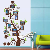 Интерьерная наклейка на стену Дерево с фото AY9005