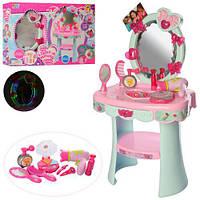 Детское игрушечное Трюмо 16813 туалетный столик с зеркалом и аксессуарами