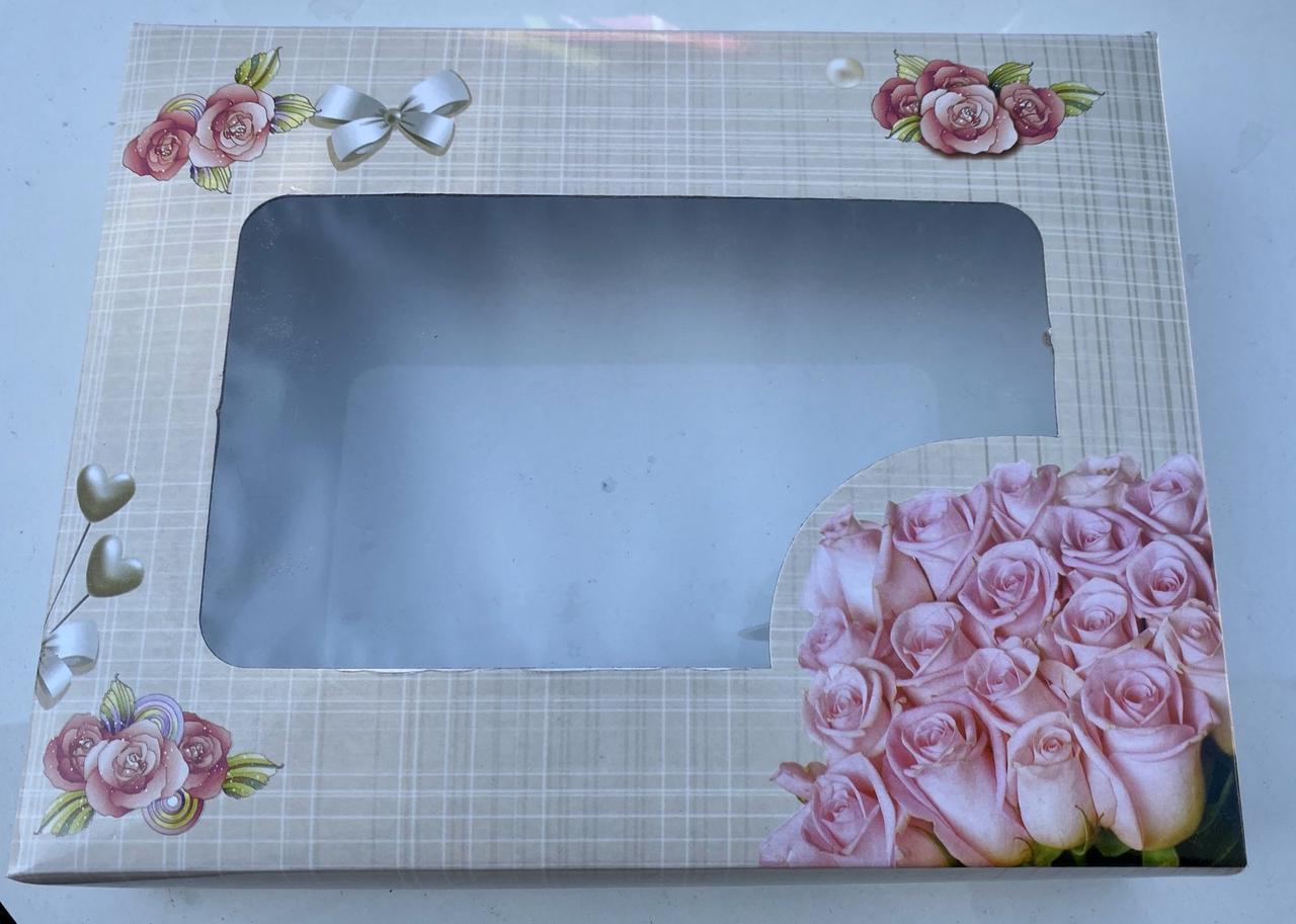 Коробка для упаковки(Расцветки разные)