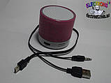 Динамик bluetooth, аудио спикер с блютуз, аудио аукустическая колонка, фото 4