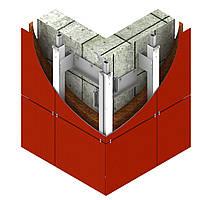 Фасадная система для крепления в межэтажное перекрытие