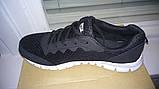 Кросівки копія NIKE чорно-білі, фото 6