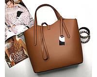 Итальянская женская сумка Laura Biaggi (421) кожаная коричневая