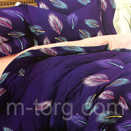 Комплект постельного белья двуспальный 180/220, нав-ки 70/70, ткань сатин, 100% состоит из хлопка, фото 2