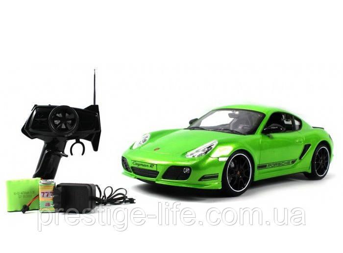 Автомобиль на радиоуправлении Porsche Cayman R 1:16 HQ200123 Зеленый