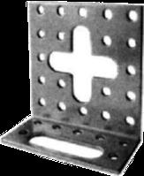 Уголок регулируемый 60х40х60х2.0 мм. с ребром жесткости, оцинкованный