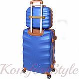 Комплект чемодан и кейс Bonro Next  маленький синий (10066701), фото 2
