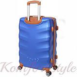 Комплект чемодан и кейс Bonro Next  маленький синий (10066701), фото 4