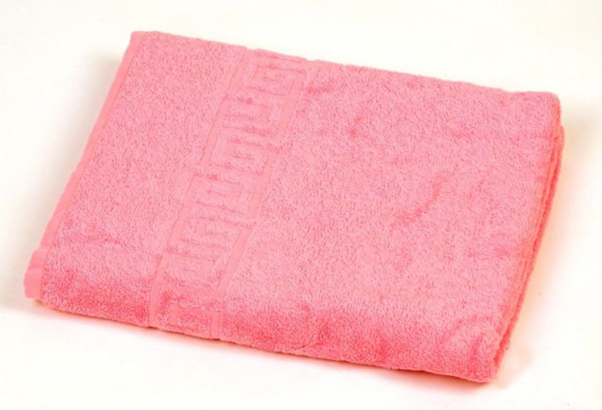 Полотенце махровое 50x90 см Pink dark