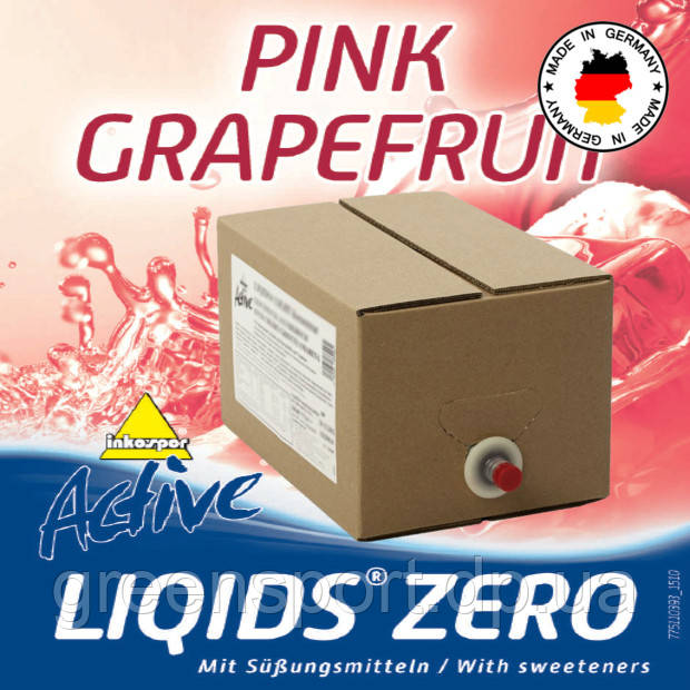 Гипотоник Inkospor Active Liqids Zero (5.0 л) Розовый грейпфрут