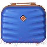 Комплект чемодан и кейс Bonro Next  маленький синий (10066701), фото 6