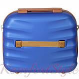 Комплект чемодан и кейс Bonro Next  маленький синий (10066701), фото 7