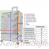 Комплект чемодан и кейс Bonro Next  маленький синий (10066701), фото 9