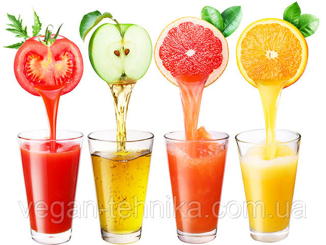 Полезные свойства свежевыжатых соков ― фреш