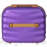 Комплект чемодан и кейс Bonro Next  маленький фиолетовый (10066703), фото 7