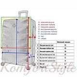 Комплект чемодан и кейс Bonro Next  маленький фиолетовый (10066703), фото 9