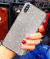 Силиконовый чехол с камнями для Iphone 7 Plus