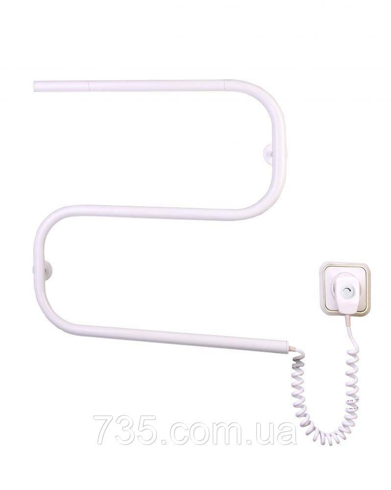 Полотенцесушитель Змейка-S с терморегулятором (белый)