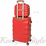 Комплект чемодан и кейс Bonro Next  средний бордовый (10066804), фото 2