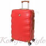 Комплект чемодан и кейс Bonro Next  средний бордовый (10066804), фото 3