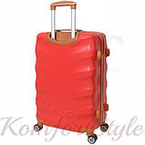 Комплект чемодан и кейс Bonro Next  средний бордовый (10066804), фото 4