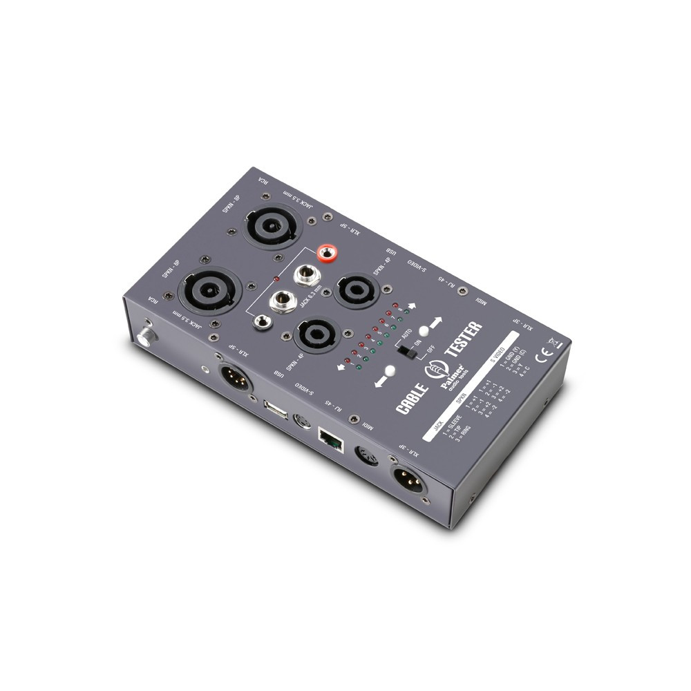 Тестер кабеля и разъемов Palmer Pro AHMCTXL V2