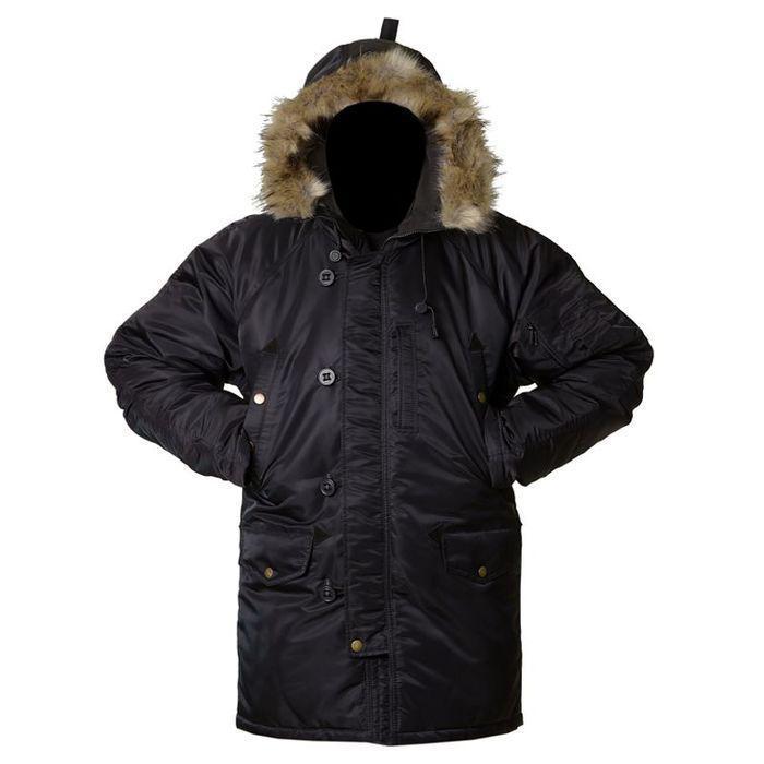 Куртка зимняя Grom Аляска M Черная