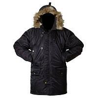 Куртка зимняя Grom Аляска M Черная, фото 1