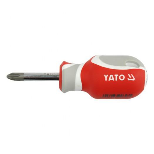 ОТВЕРТКА КРЕСТОВАЯ YATO PH2 X 38ММ (YT-2647)