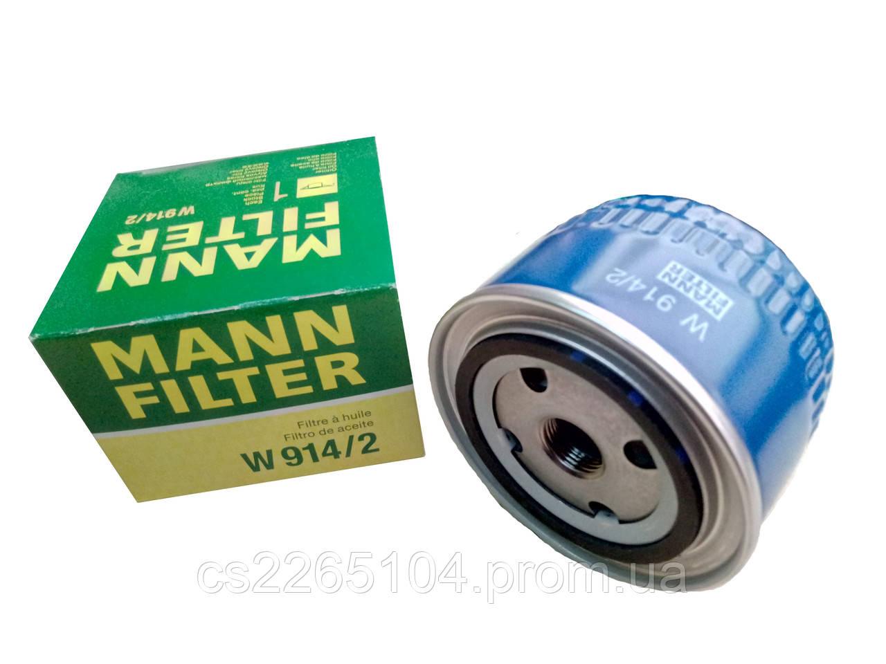 Фильтр масляный ВАЗ 2108-2115 MANN (Оригинал)